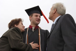 Image - parents with student