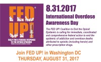 Fed Up's International Overdose Awareness Day Events