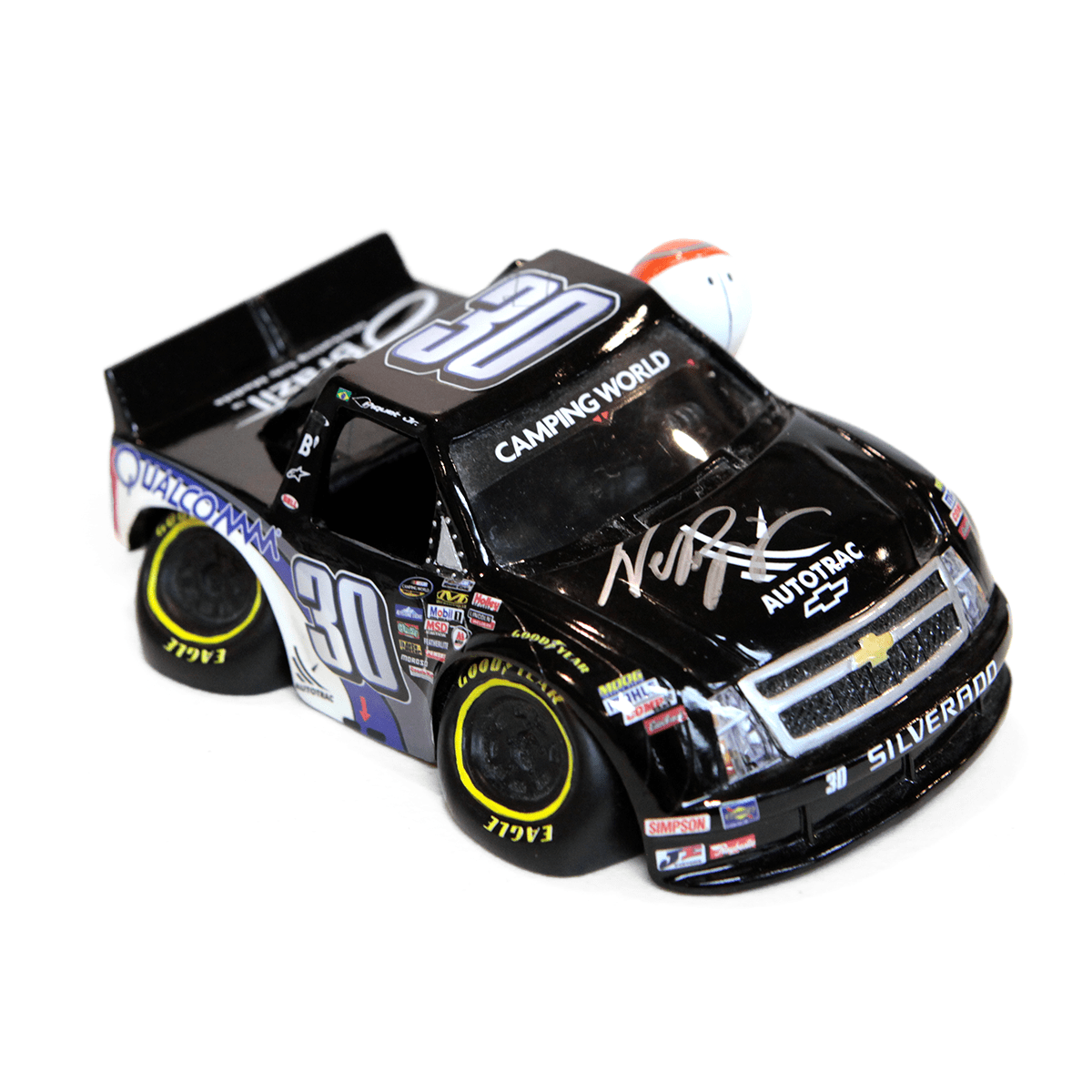 Camping World Truck Autographed by Nelson Piquet Jr.