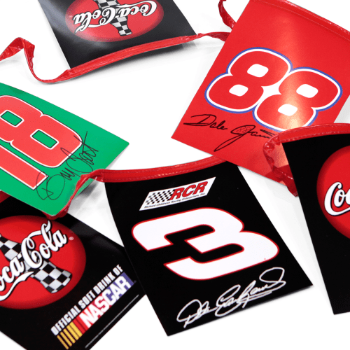 Coca-Cola Nascar Drivers Flags