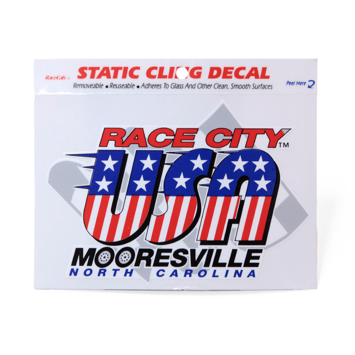 Race City USA Cling