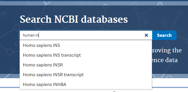 As-you-type-suggestions come to NCBI Labs