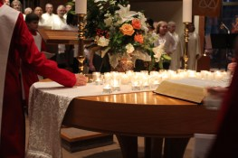 Vespers candles