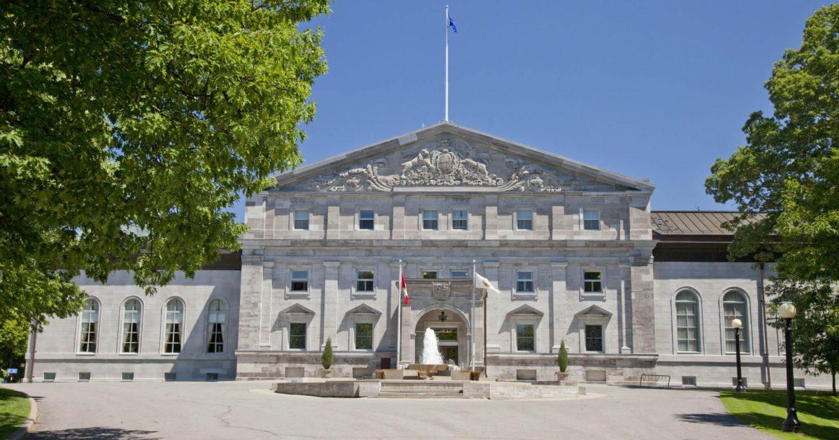 Rideau Hall National Capital Commission