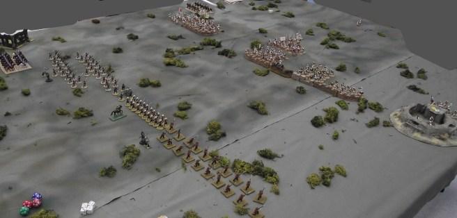 British artillery fire wipes out the crew of an Ansar gun