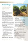 Key Findings: Drought and the Future of Rural Communities: Drought Impacts and Adaptation in Regional Victoria, Australia