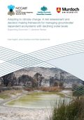 Adapting to climate change: A risk assessment and decision making framework for managing groundwater dependent ecosystems with declining water levels. Supporting document 1: Literature review