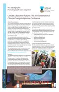 Promoting Excellence in Adaptation: Climate Adaptation Futures: The 2010 International Climate Change Adaptation Conference