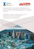 Learning from cross-border mechanisms to support climate change adaptation in Australia