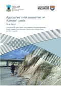 Approaches to risk assessment on Australian coasts: A model framework for assessing risk and adaptation to climate change on Australian coasts