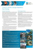 Limits to Climate Change Adaptation: Key Findings, 4pp, factsheet.