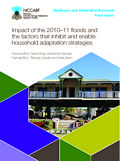 Impact of the 2010-11 floods and the factors that inhibit and enable household adaptation strategies