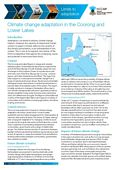 Climate Change Adaptation in the Coorong and Lower Lakes, 2pp, factsheet.