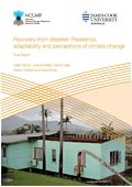 Recovery from disaster: Resilience, adaptability and perceptions of climate change
