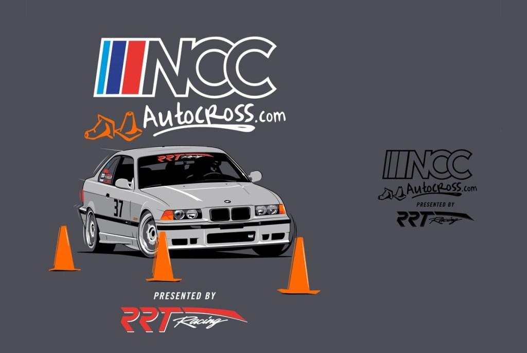 NCC Autocross T-Shirt Logo