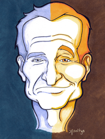 Suicide Awareness Week soon to follow the death of Robin Williams