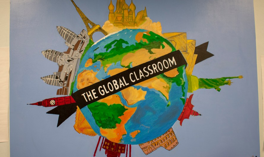 Language meets art in 'The Global Classroom