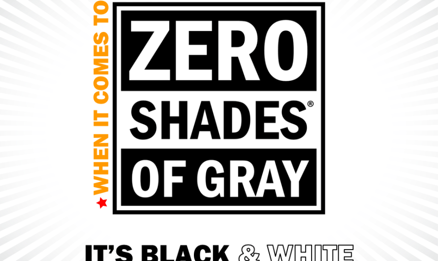 Zero shades of grey seminar: The conversation starts with you