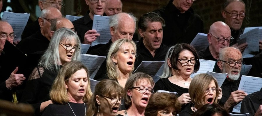 Choir north London North Camden Chorus singing at St Mary Brookfield Church