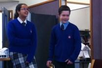 Casey and Safi presenting