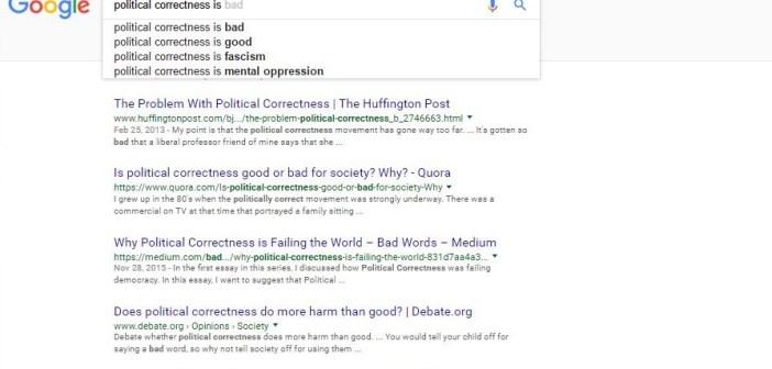 political correctness on a downward spiral ncclinked political correctness on a downward spiral
