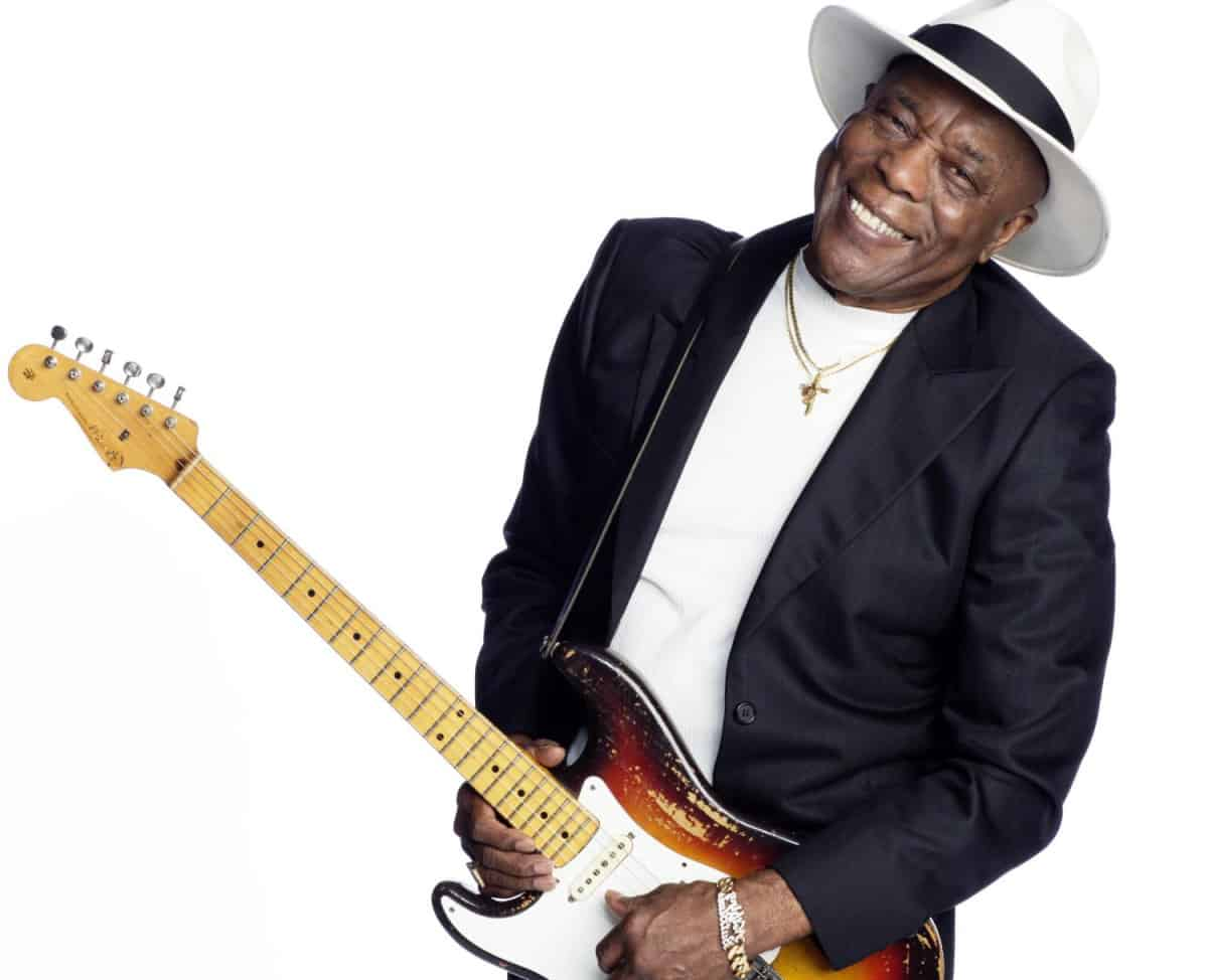 buddy guy and brandy zdan rock out at the california center for