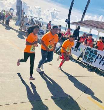 Members of Boys & Girls Clubs of Oceanside participate annually in the Oside Turkey Trot