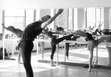 Gary Taylor teaching at Dance Project. Photo by Sarah Vincent