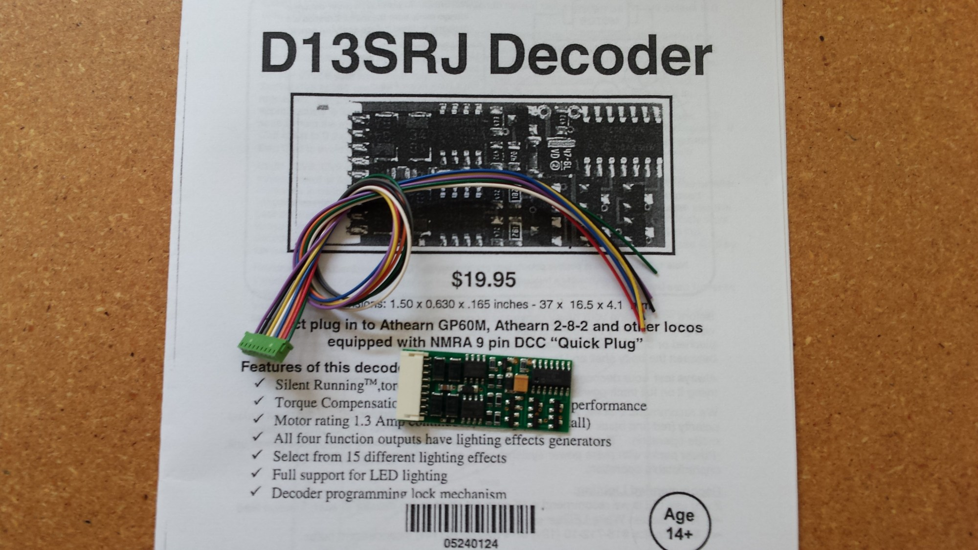 hight resolution of old and archived mobile decoder manuals
