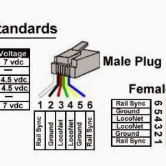 Rj45 Wiring Diagram Cat5 Trane Compressor Digitrax Up5 – Welcome To The Nce Information Station