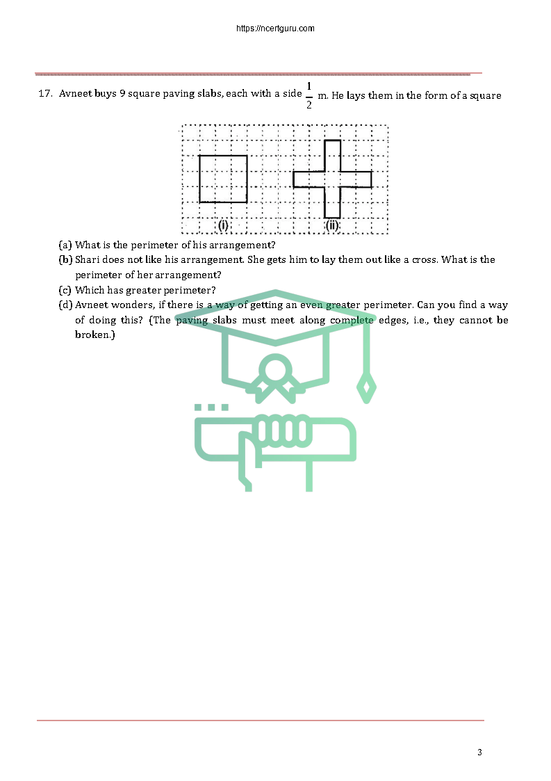 NCERT Solutions for Class 6 Maths Chapter 10
