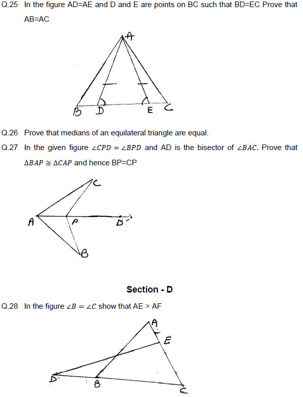 Congruence Of Triangles Class 9 Similarity Rules And Formulas
