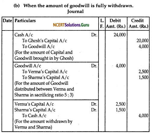 NCERT Solutions for Class 12 Accountancy Chapter 3 Reconstitution of Partnership Firm Admission of a Partner 78