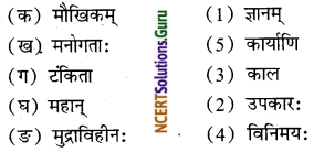 NCERT Solutions for Class 8 Sanskrit Chapter 3 डिजीभारतम् Q4.1