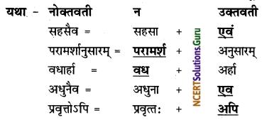 NCERT Solutions for Class 8 Sanskrit Chapter 6 गृहं शून्यं सुतां विना Q7.1