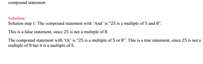 NCERT Solutions for Class 11 Maths Chapter 14 Mathematical Reasoning Miscellaneous Exercise 6