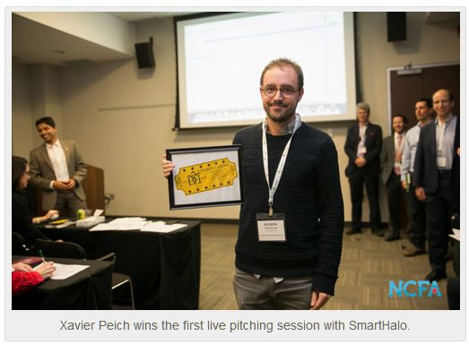 smart halo wins NCFA live pitching session - KABN (Gibraltar) PLC to Launch ERC 1400 Equity Token Offering
