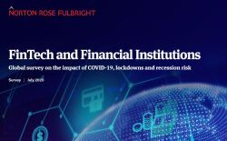 Norton Rose Fulbright Fintech and institutions covid lockdown recession Survey - Bank On It Podcast:  Turning a Funding Failure Into a Win