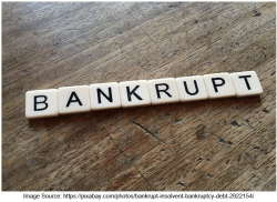 bankrupt image - Bank On It Podcast:  Turning a Funding Failure Into a Win