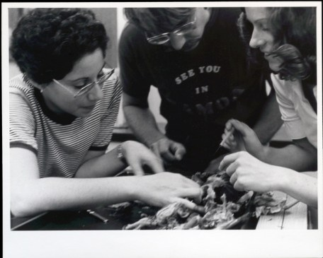 Professor Alfred Beulig with students in 1979. Photo courtesy of New College Digital Collections