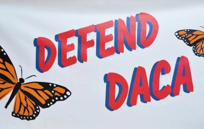 Banner revealed in defense of DACA recipients