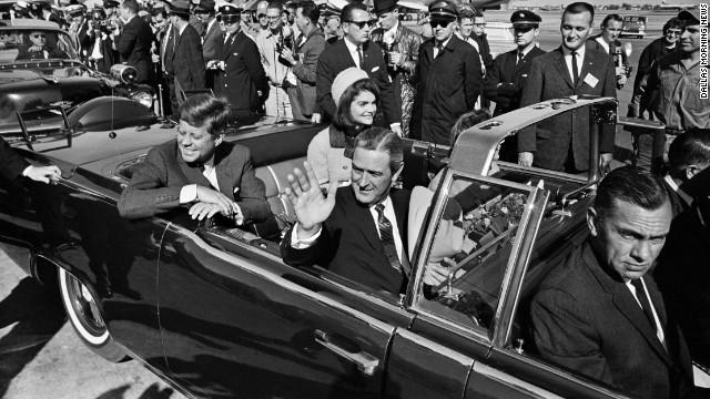 Trump announces allowance of release of JFK assassination