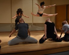 Dance Collective prepares for showcase during high energy rehearsal
