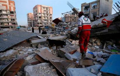 Iran-Iraq earthquake: another natural disaster
