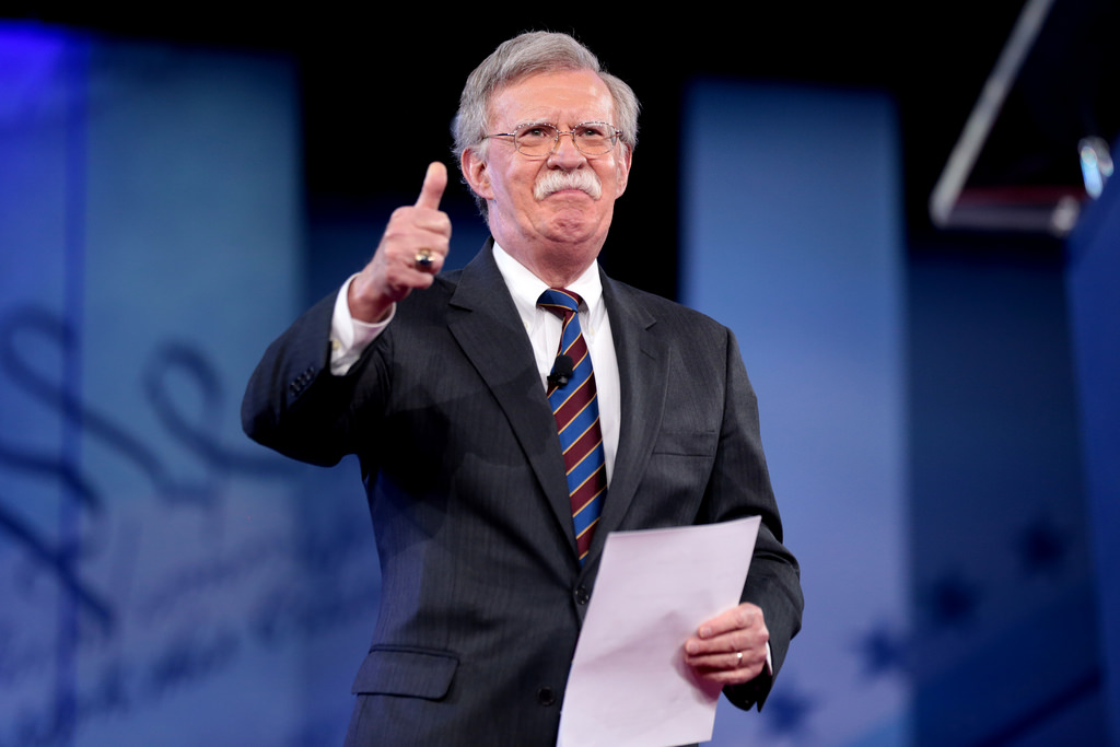 Bolton Announces Shuttering of PLO Office