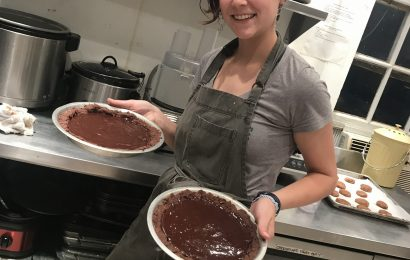 The Four Winds bakers provide vegan and gluten-free treats daily