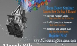 First Time Home Buyer Seminar March 8th