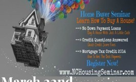 First Time Home Buyer Seminar March 22