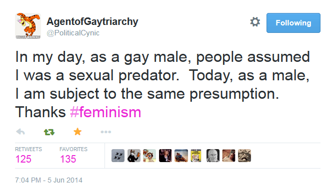 Feminists Hate of Gay Men 4