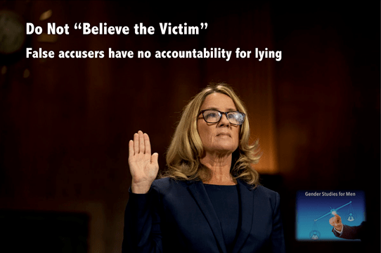 believe the victim